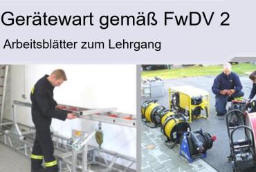 Gerätewart gemäß FwDV 2