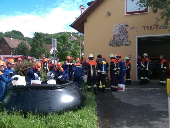 Berufsfeuerwehrtag in der Gemeinde Leinburg Juni 2016
