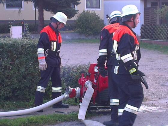 Gemeindeübung 2014 in Entenberg