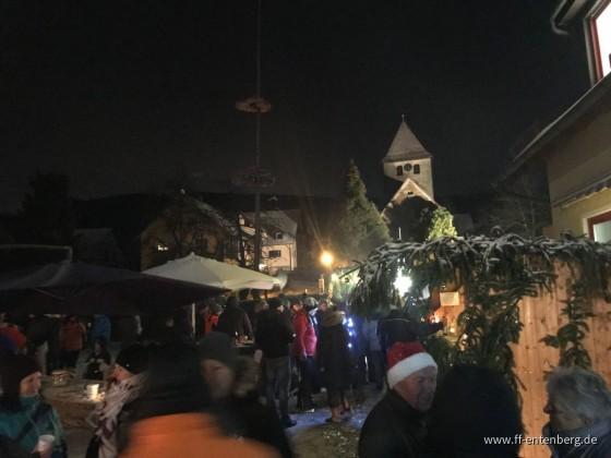 Vorbereitung u. Adventsglühen 2017