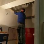 Renovierung u. Einbau Turmklappe